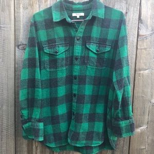 Madewell Women's Flannel Shirt / Blouse Size XS